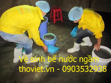 Thợ vệ sinh bể nước ngầm chuyên nghiệp