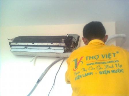 Thợ tháo lắp - di dời máy lạnh tại tphcm