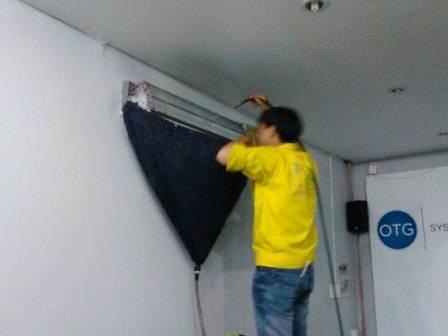 Vệ sinh máy lạnh quận Gò Vấp giá rẻ uy tín