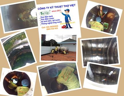 Chuyên cung cấp dịch vụ vệ sinh bồn nước tại TPHCM
