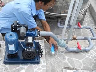 Chuyên lắp đặt các loại máy bơm tăng áp tại hcm
