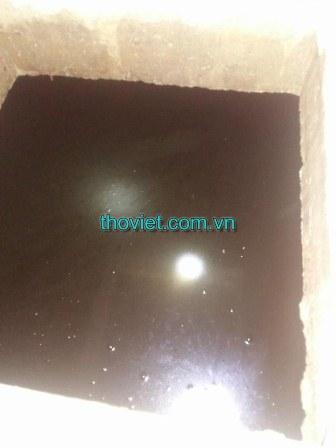 Bể nước ngầm bị đóng ván dễ phát sinh vi khuẩn gây bệnh