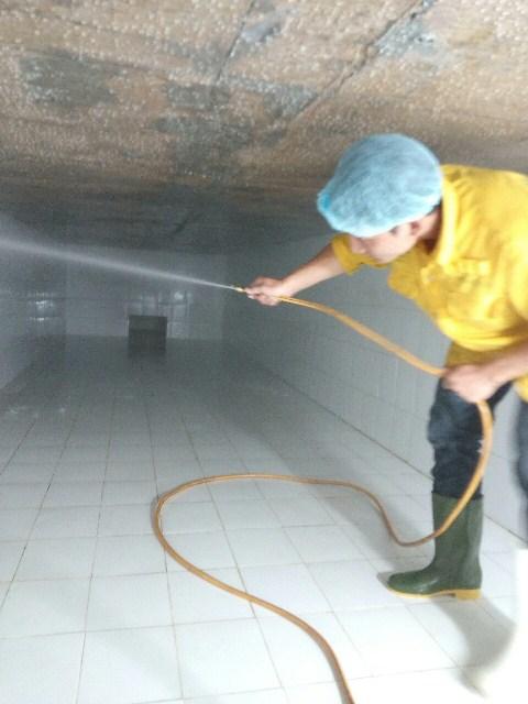 Vệ sinh bể nước ngầm cho tòa nhà tại quận Phú Nhuận TPHCM