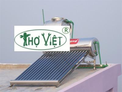 Sửa chữa - lắp bình nước nóng năng lượng mặt trời