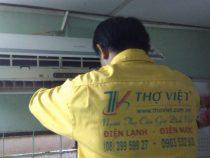 Thợ vệ sinh máy lạnh tại quận 10 uy tín