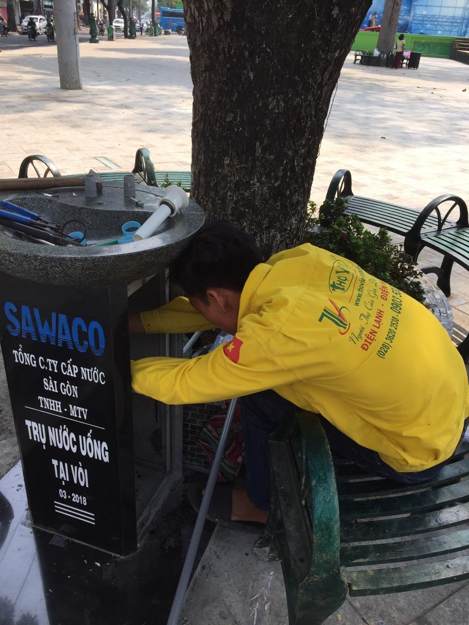 Thợ sửa điện nước tại quận 5 giá rẻ