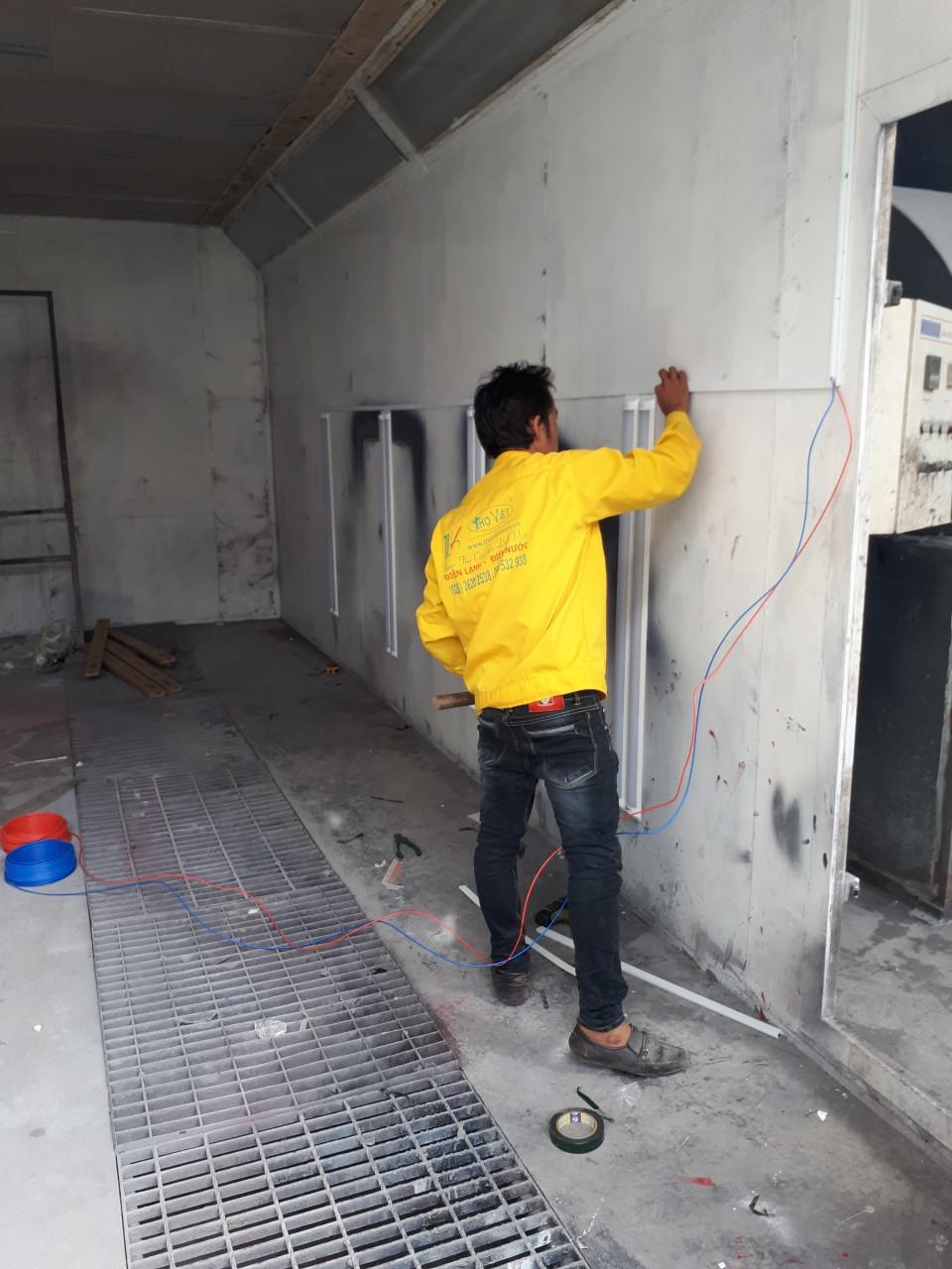 Chuyên sửa chữa điện nước tại quận Tân Bình