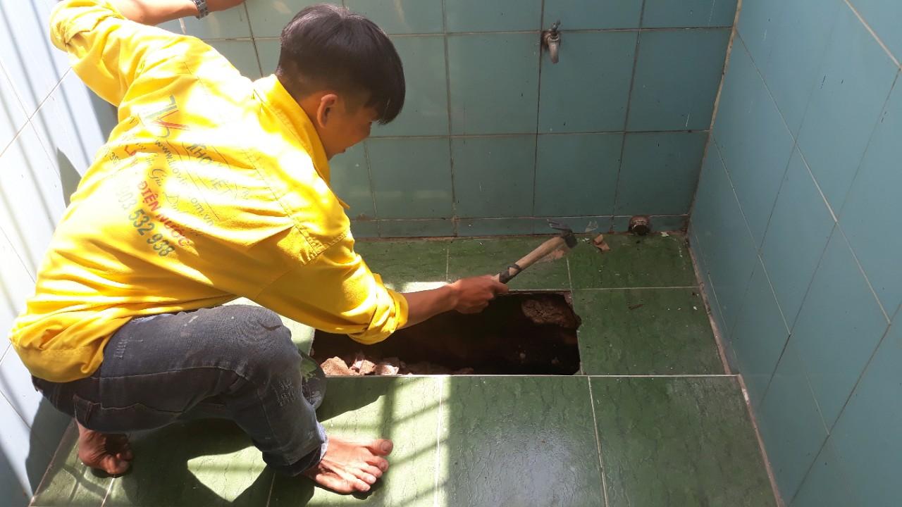 Sửa chữa đường ống nước rò rỉ nhanh chóng