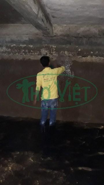 Vệ sinh bể nước ngầm Tỉnh Long An