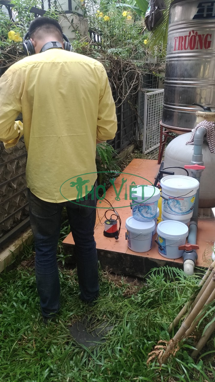 Underground water leakage service in Ho Chi Minh City