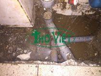 Dò tìm đường ống nước rò rỉ tại Tân Bình