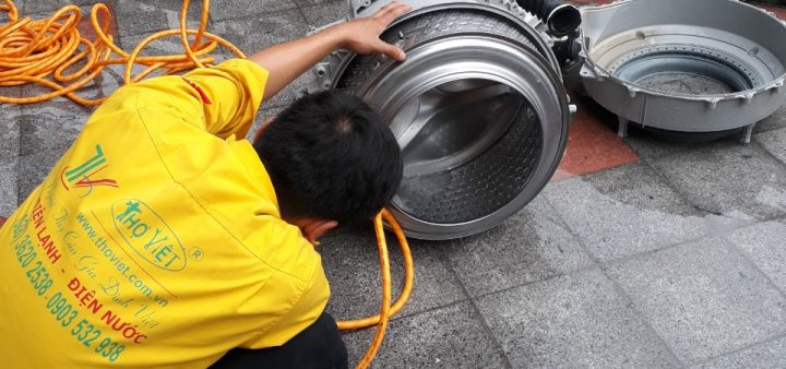 Thợ vệ sinh máy giặt chuyên nghiệp