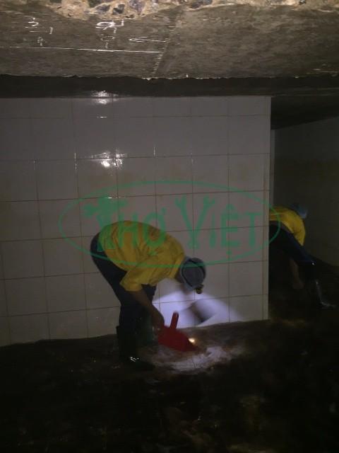 Thợ vệ sinh bể nước ngầm tại Bình Dương, dịch vụ vệ sinh bể nước ngầm khu công nghiệp Bình Dương