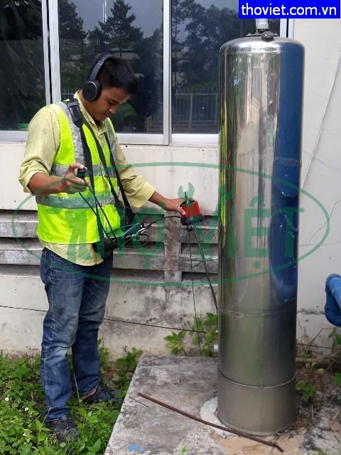 Dò nước ngầm rò rỉ Khu công nghiệp tại Tây Ninh