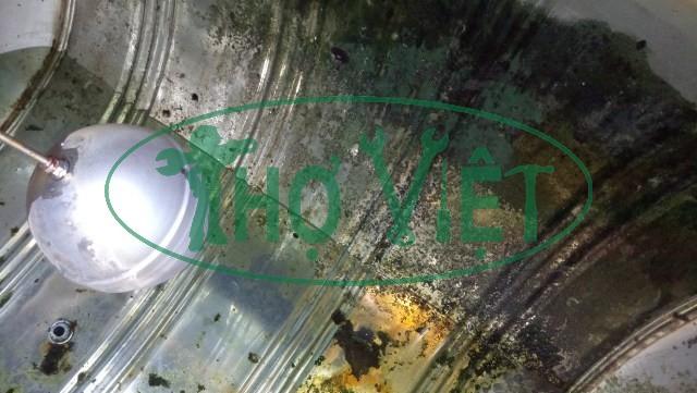 Vệ sinh bồn nước inox tại Gò Vấp