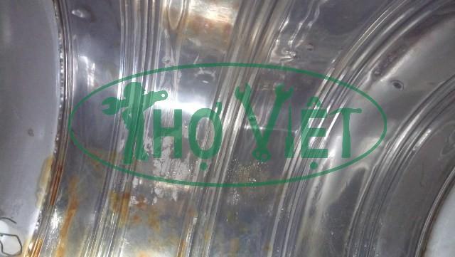 Vệ sinh bồn nước inox tại Gò Vấp (1)