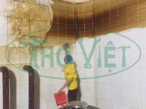 Vệ sinh bể nước ngầm cho chung cư tại Bình Tân