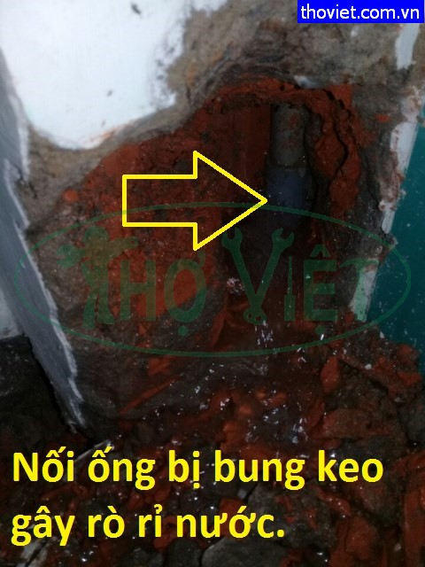 Sửa ống nước âm tường Quận 1 – Dịch vụ dò tìm nước âm tường rò rỉ
