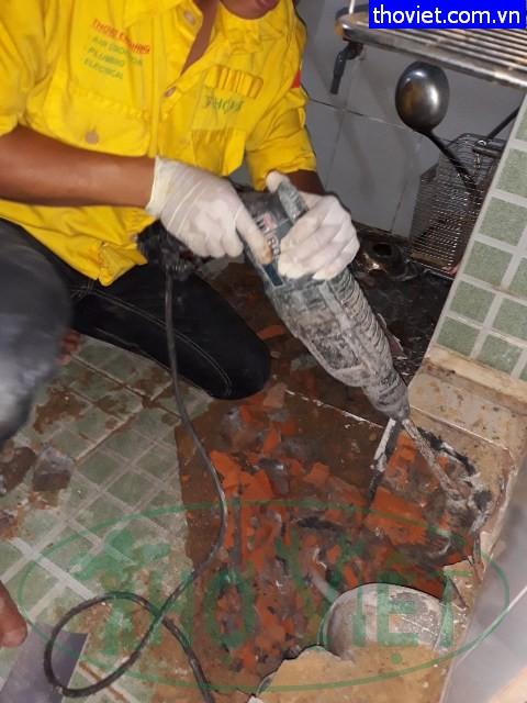 Dò tìm nước âm rò rỉ – Nguyên nhân tốn tiền nước tại nhà Quận 5