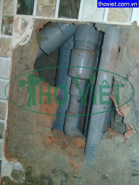 Kiểm tra sửa chữa đường ống nước âm tường rò rỉ