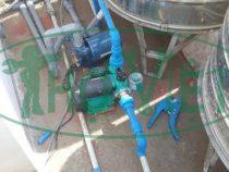 Lắp máy bơm nước tăng áp cho máy nước nóng năng lượng mặt trời