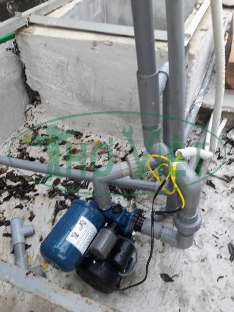 Lắp máy bơm tăng áp cho gia đình nhà cao tầng