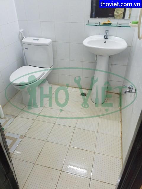 Lắp mới bồn cầu lavabo thiết bị phòng vệ sinh tại Quận 10
