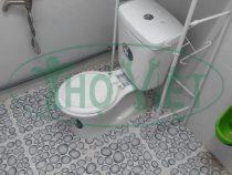 Dịch vụ Lắp bồn cầu lắp lavabo thiết bị phòng vệ sinh tại nhà Quận 12