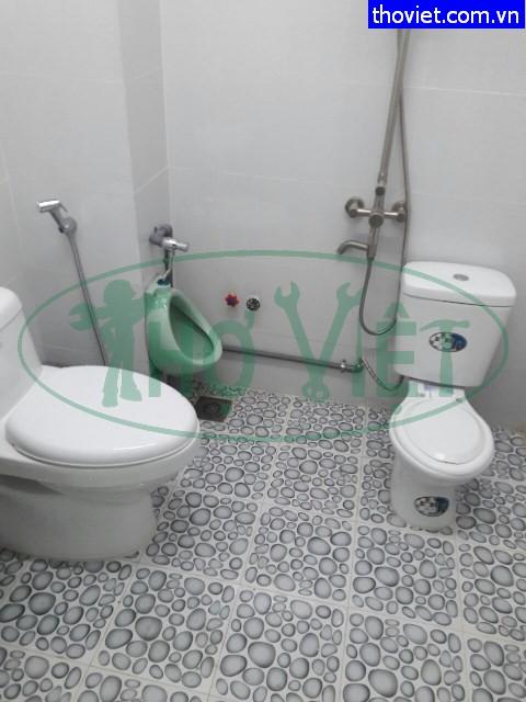 Lắp mới bồn cầu và lavabo tại quận Tân Phú