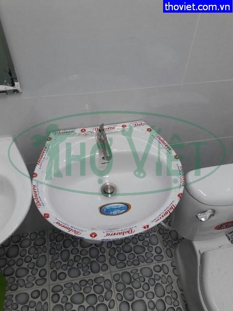 Lắp mới bồn cầu lavabo thiết bị phòng vệ sinh tại Quận Tân Bình