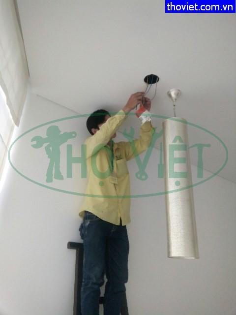 Lắp đèn led âm trần và đèn led thả trần tại quận Tân Phú
