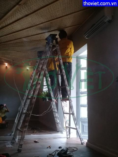 Lắp đèn trang trí cho quán cafe tại quận Bình Thạnh