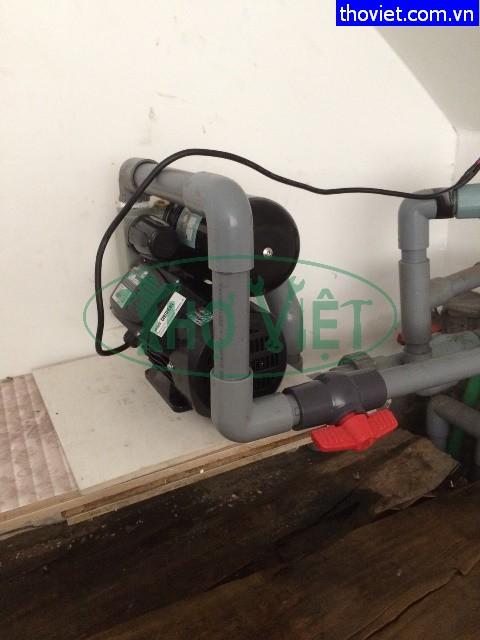 Thay máy bơm tăng áp SHIRAI mới Tại Bình Thạnh