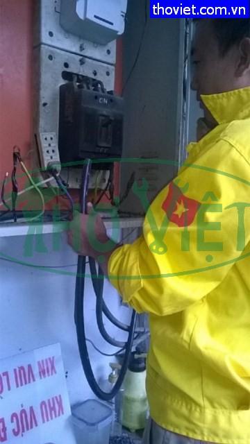 Sửa chập nguồn tủ động lực 3 pha tại Phú Nhuận- Thợ điện 3 pha