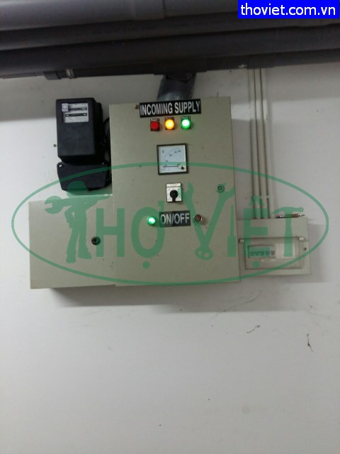 Lắp đồng hồ đồ điện 3 pha Cho xưởng may tại Bình Thạnh
