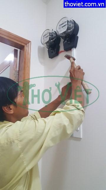 Lắp đồng hồ điện cho phòng trọ tại quận Bình Tân