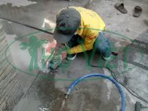 Lắp đường ống cấp nước sạch mới