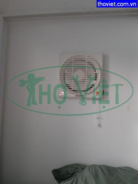 Lắp quạt thông gió âm tường tại quận 3- Tạo không khí thoáng mát cho phòng