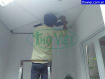 Lắp quạt thông gió âm trần ASIA – Có ống gió tại Tân Bình