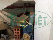 Sửa máy bơm nước đẩy cao bị rỉ đầu bơm tại Tân Bình