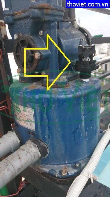 Sửa máy bơm nước tăng áp bị hỏng rơ le tại quận Tân Phú