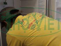 Sửa tủ lạnh Panasonic Inverter 180 lít bị hư quạt tại quận Gò Vấp