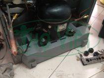 Sửa tủ lạnh Sanyo 180 lít chạy không ra hơi lạnh tại Phú Nhuận
