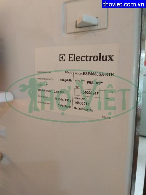 Sửa tủ lạnh Electrolux bị hư cảm biến nhiệt tại quận Tân Phú