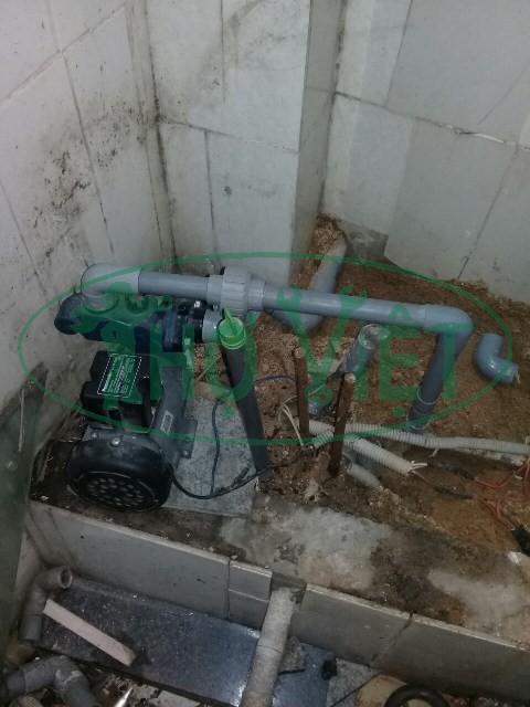 Thay máy bơm nước đẩy cao tại quận Bình Tân