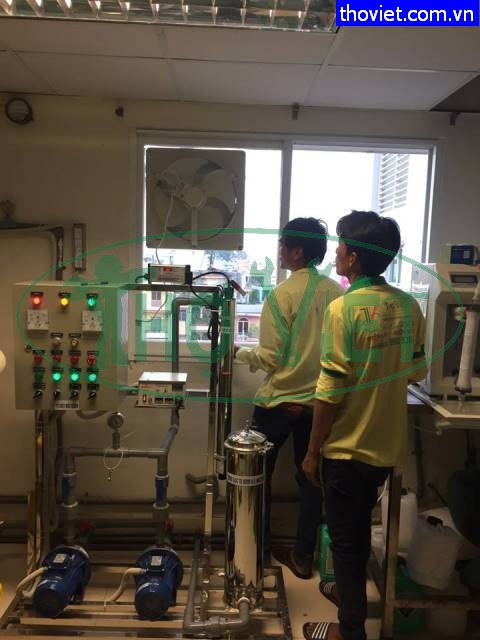 Lắp đặt quạt thông gió cho phòng thí nghiệm tại quận 10