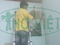 Lắp đặt quạt thông gió Senko cho nhà bếp tại quận  Gò Vấp