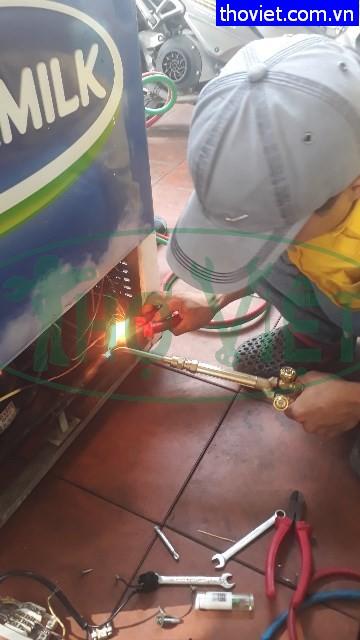 Sửa tủ kem bị chạm điện, hư block tại quận Tân Bình