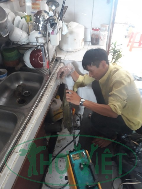 Thông nghẹt đường ống nước Quận Tân Bình