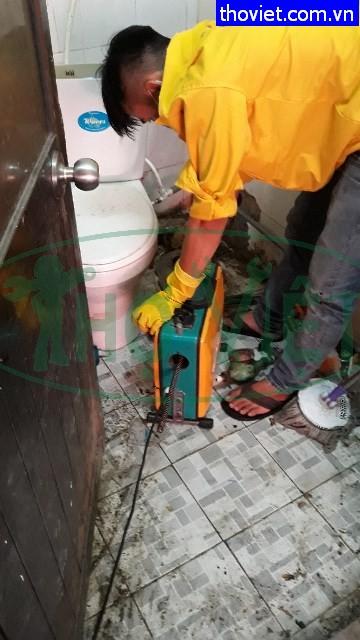 Thông nghẹt đường ống thoát nước quận Bình Tân